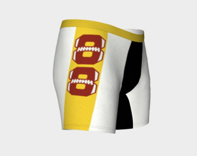 Men's Boxer Briefs, Football theme,Monogram, Player Number, Football Team, Personalized, Spartans, or your favorite team!