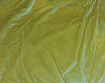 Yellow Fabric - Soft Blanket Fabric - Heavy weight