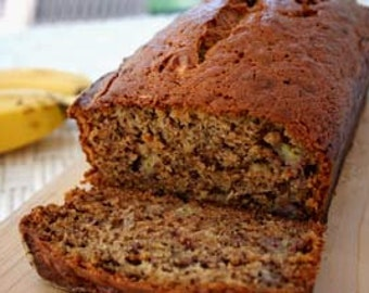 Healthy Whole Wheat Banana Bread With or Without Nuts
