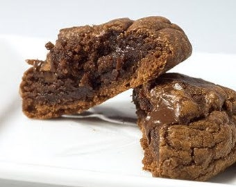 ON SALE Big Walnut Brownie Cookies