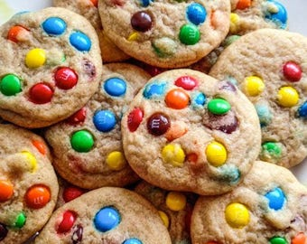 ON SALE Rainbow Crunch Cookies