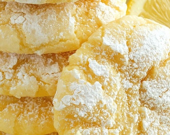 ON SALE Lemon Gooey Butter Cookies