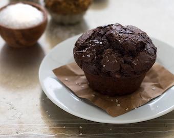 Jumbo Double Chocolate Muffins