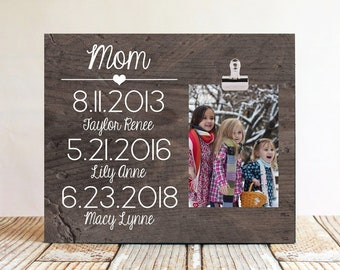 mom gift idea mom christmas gift mom picture frame mom with kids picture frame grandma gift idea