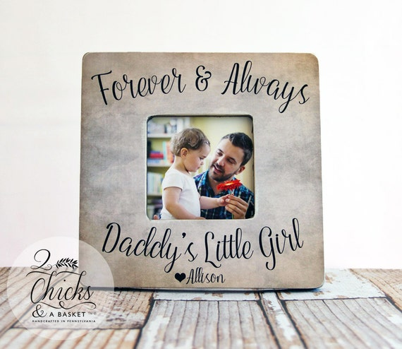 Dad Gift From Daughter Forever And Always Daddy\'s Little | Etsy