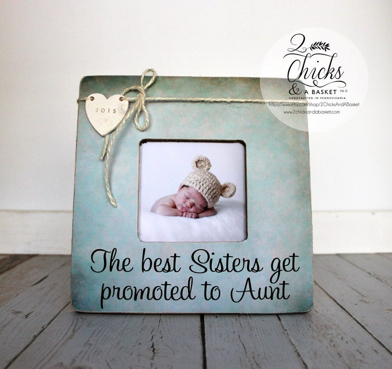 Gift for Aunt The Best Sisters Get Promoted To Aunt image 0