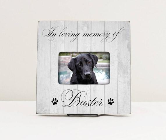Pet Memorial Gift In Loving Memory Of Pet Picture Frame