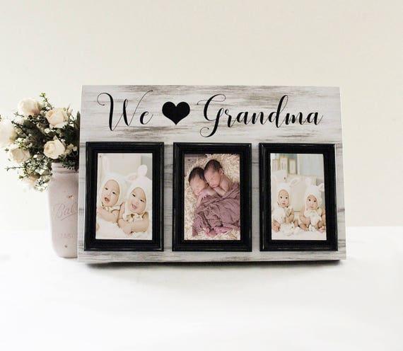 We Love Grandma Picture Frame Grandma Photo Frame