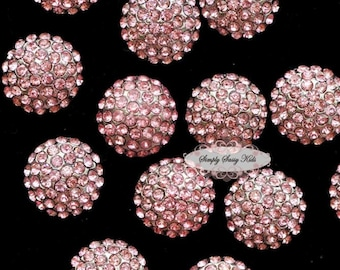 10pcs RD71a Rhinestone Crystal Embellishments Flatback Buttons DIY Wedding Bridal Wedding Hair Clips Accessories