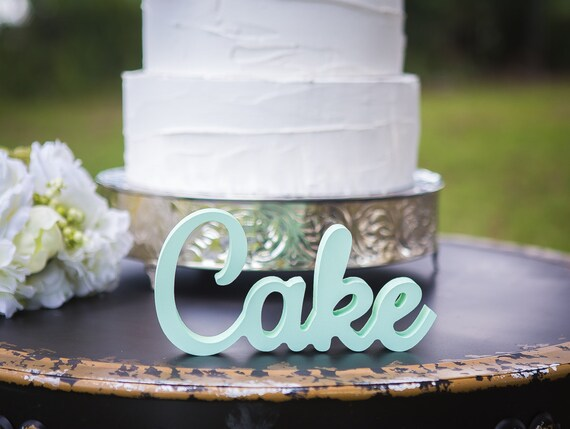 Cake Sign For Wedding Cake Table Cake Table Sign Gold Etsy