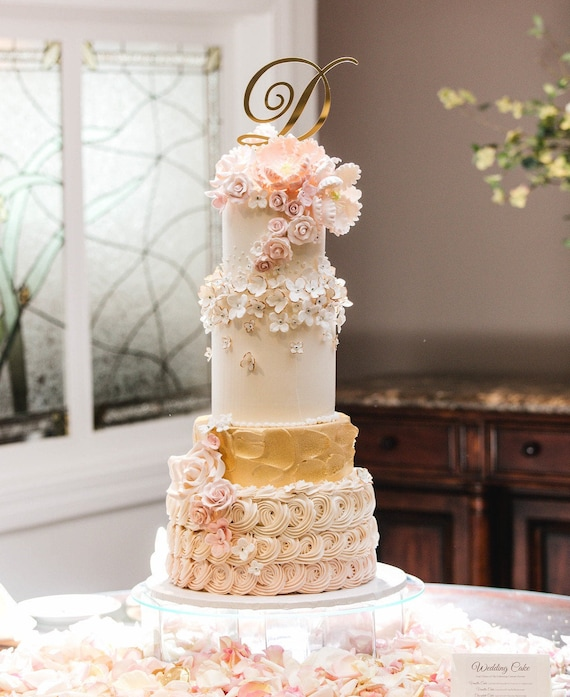 Fait à la main en bois coeur gravé cake topper personalised wedding engagement etc