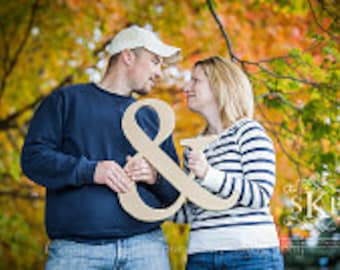 Ampersand Sign - 18 Inch Ampersand Photo Prop - DIY '&' Sign for Wedding or Engagement Photos Photo Prop (Item - AMP180)