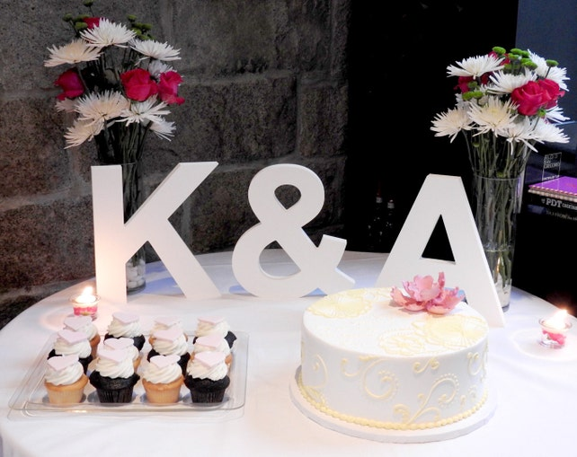 12 wooden letters freestanding 3 piece initial set for wedding table decor personalized table signs wooden