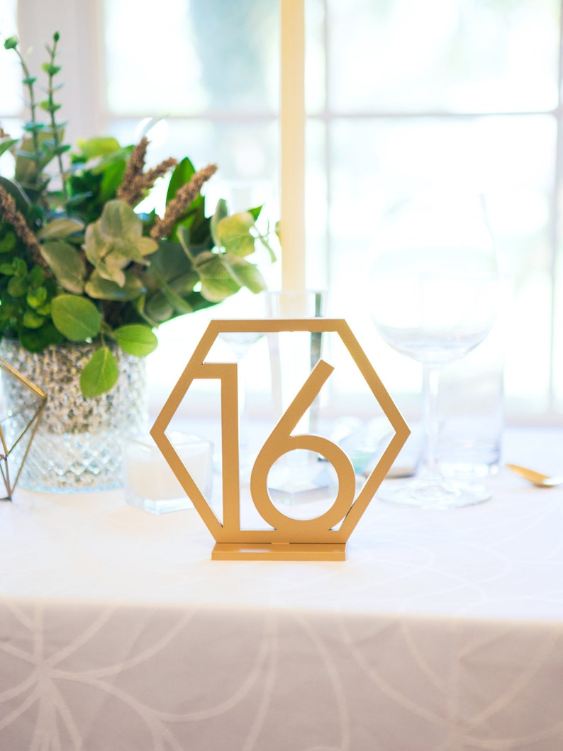Table Numbers Wedding.Geometric Table Numbers For Wedding Gold Laser Cutout Hexagon Table Numbers Wedding Decor Boho Centerpiece Table Decor Item Gtn200