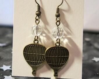 Crystal Air Balloon Earrings
