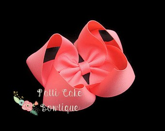 Party Hairbow Baby Pink Headband Pink Hairbow Pink Bullet Liverpool Fabric Hairbow Messy Hairbow Headband Sitter Toddler Headband