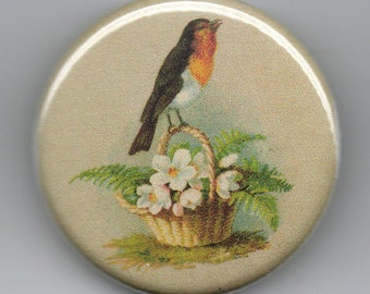 Robin Red Breast 1.25 inch Button