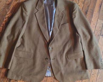 Vintage Men s Hunt Valley 100% Camel Hair Jacket 40 Long fe6972366