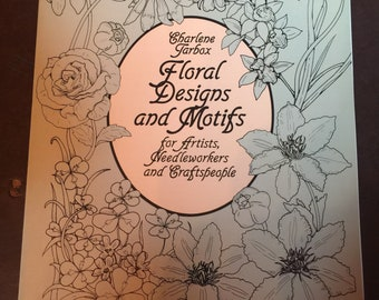 Items Similar To Floral Designs And Motifs Craft Book For Artists