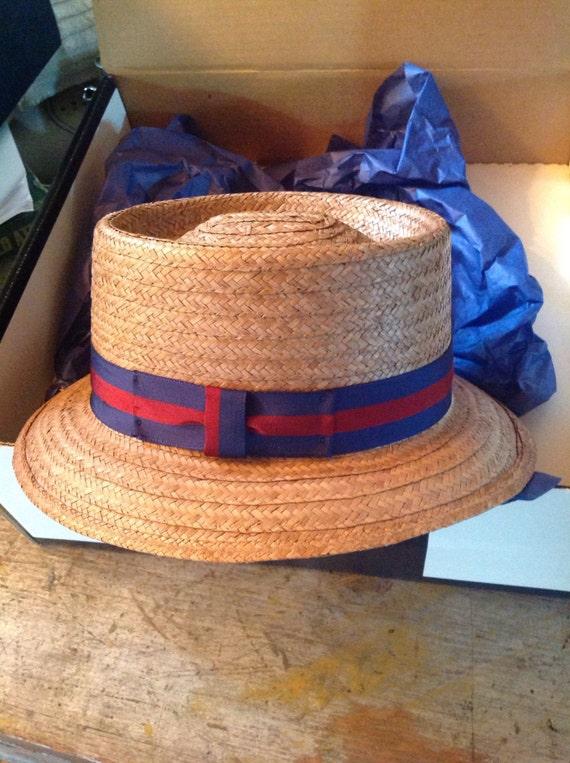 Worth & Worth Straw Summer Hat Fedora Capas Desig… - image 2