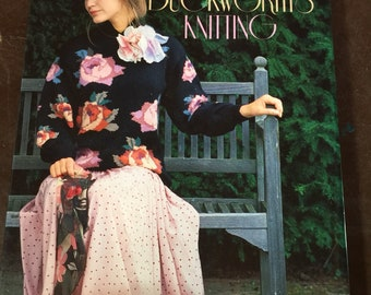 Vintage 1988 Susan Duckworth's Knitting Book Duckworth