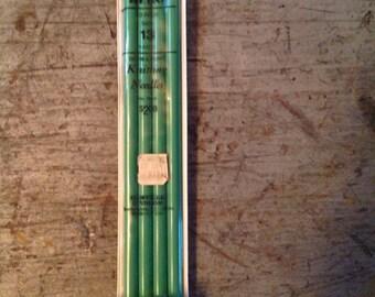 Scovill héroe doble puntas agujas susurro tamaño 13 pulgadas 10