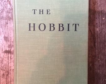 Vintage 1966 The Hobbit or There and Back Again Book by J.R.R Tolkien