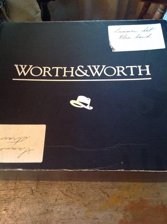Worth & Worth Straw Summer Hat Fedora Capas Desig… - image 5