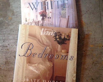 Victoria At Home With White & Bedrooms Books