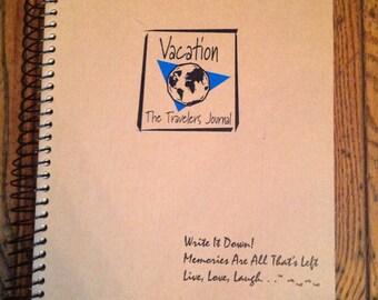 Vintage Vacation Travelers Journal