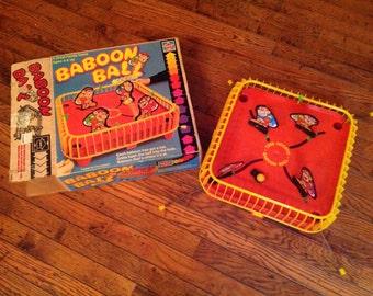 1981 Hasbro Games Baboon Ball Vintage