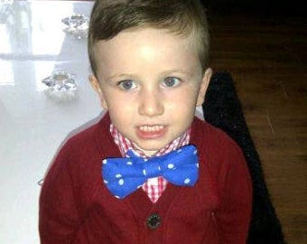 Boys Polka Dot Bow Tie - VB Kids