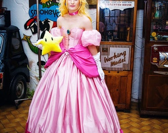 Princess Peach Costume - Mario / Smash Bros