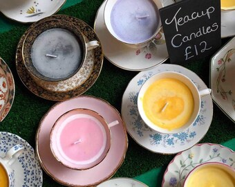 Wonderland Teacup Candles