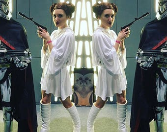 Princess Leia Star Wars New Hope cosplay outfit - dress & belt