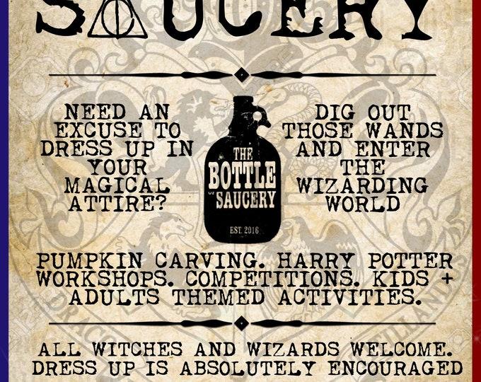 Featured listing image: Harry Potter Hogwarts Workshop - Bottle Of Sauce - Cheltenham - 28th October