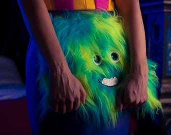 Monsterz Fur 'Monster Clutch Bag' *Limited Edition