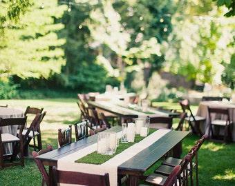Wonderland Grass Table Runner / Desk Runner - Easter / Mother's Day / Wedding
