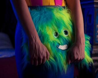 Monsterz Fur 'Monster Clutch Bag' *Limited Edition