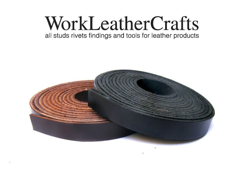 186dab60a204 1 meter 10mm Genuine Flat Real Leather Strip Strap Leather DIY