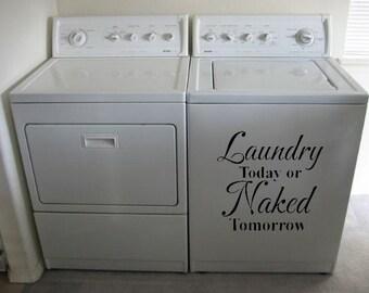 Waschmaschine trockner aufkleber etsy