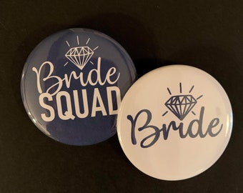 Leopard Print I/'m with the Bride Bachelorette Party Favors  Bridal Shower Party Favors 2.25 inch Pinback Buttons Badges Pink pins