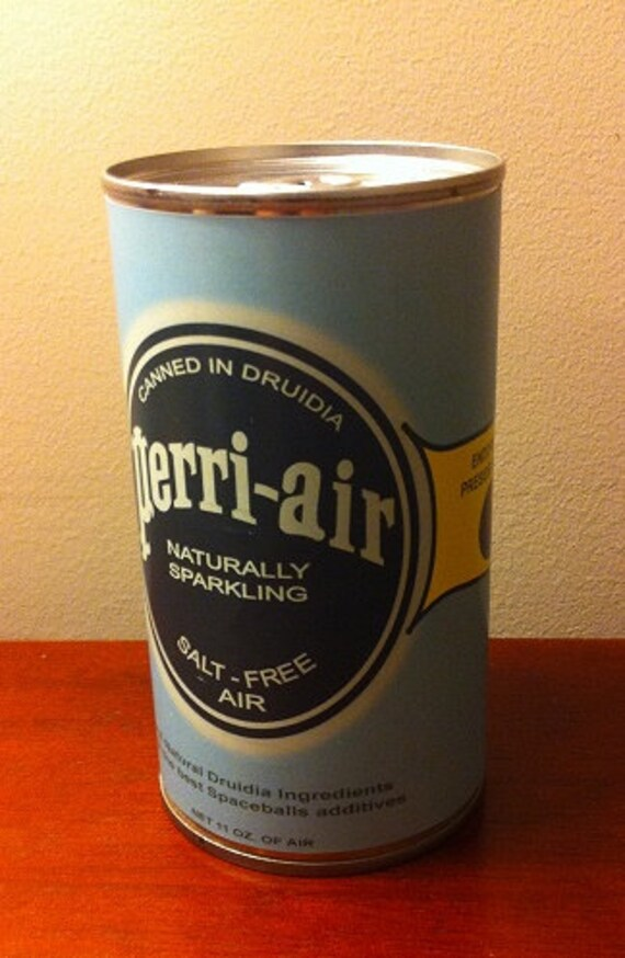 Spaceballs Prop Replica Canned Air Can Etsy