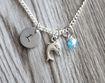 Dolphin Gift Girls Gift Necklace fba2c925d290