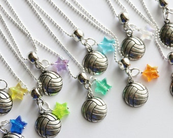 Volleyball Gifts 10+ Necklaces, Volleyball Favors, Volleyball Team Party, Volleyball Necklaces, Beach Party Favors, Spring Break Favors