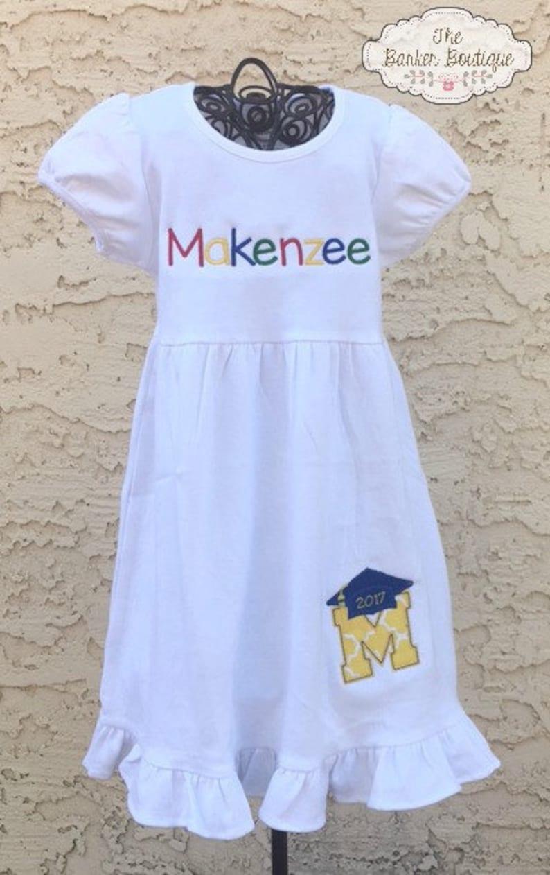 0dc19a82514 Preschool or Kindergarten Graduation Dress Outfit