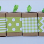 Green Paper Ribbon in Pattern of your choice