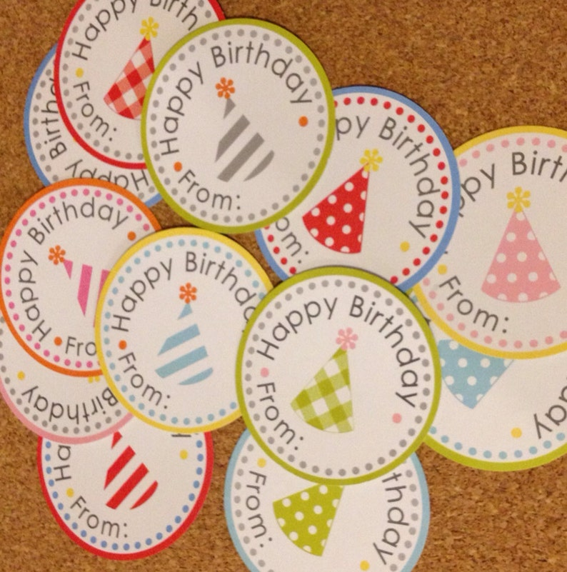 Birthday Labels Variety Pack image 0