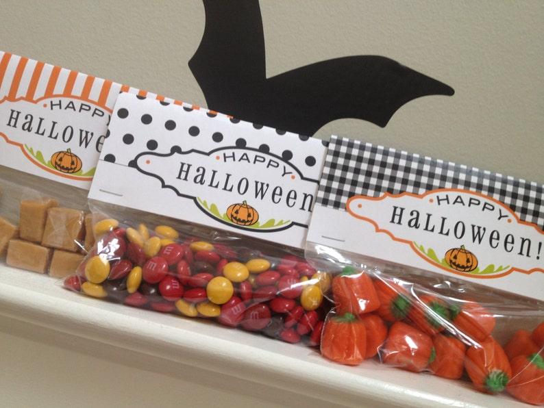 Halloween Treat Bag Topper PRINTABLE image 0