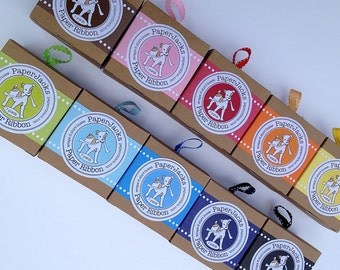 Necklace Pattern Paper Ribbon in Color of Your Choice